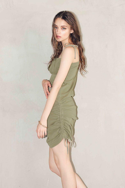 drawstring-tight-padded-dress-khaki-15